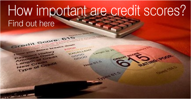 How important credit scores