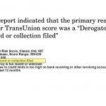 Credit Score Impact 110