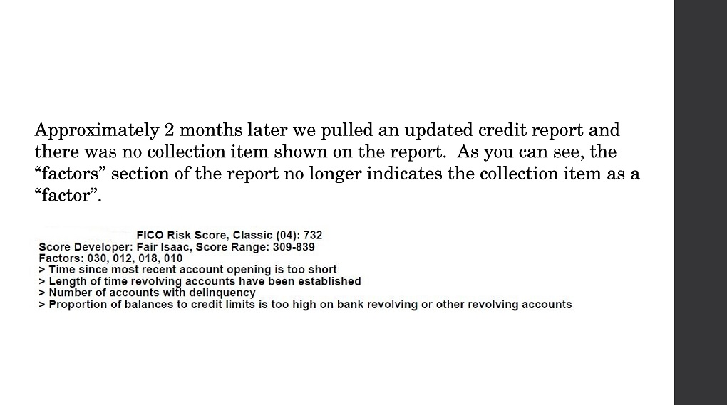 Credit Score Impact 113