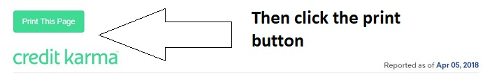 Then click this Print button